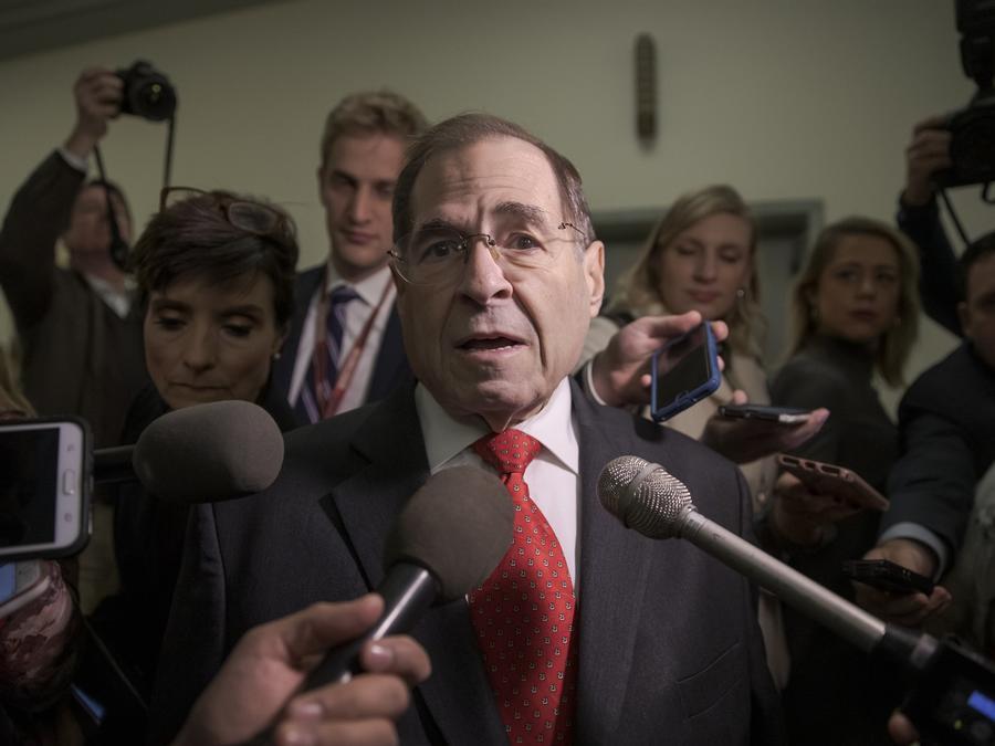 El legislador demócrata Jerry Nadler
