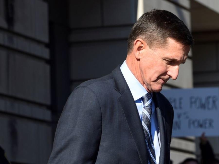 El ex asesor de Seguridad Nacional del presidente Trump, Michael Flynn, en una foto de archivo.
