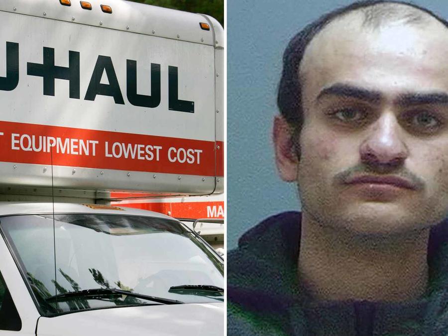 Murad Mansurovich Kurbanov, de 19, alegadamente se robó un camión de U-Haul.