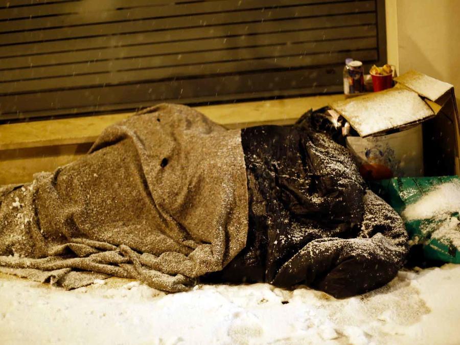 Persona sin hogar