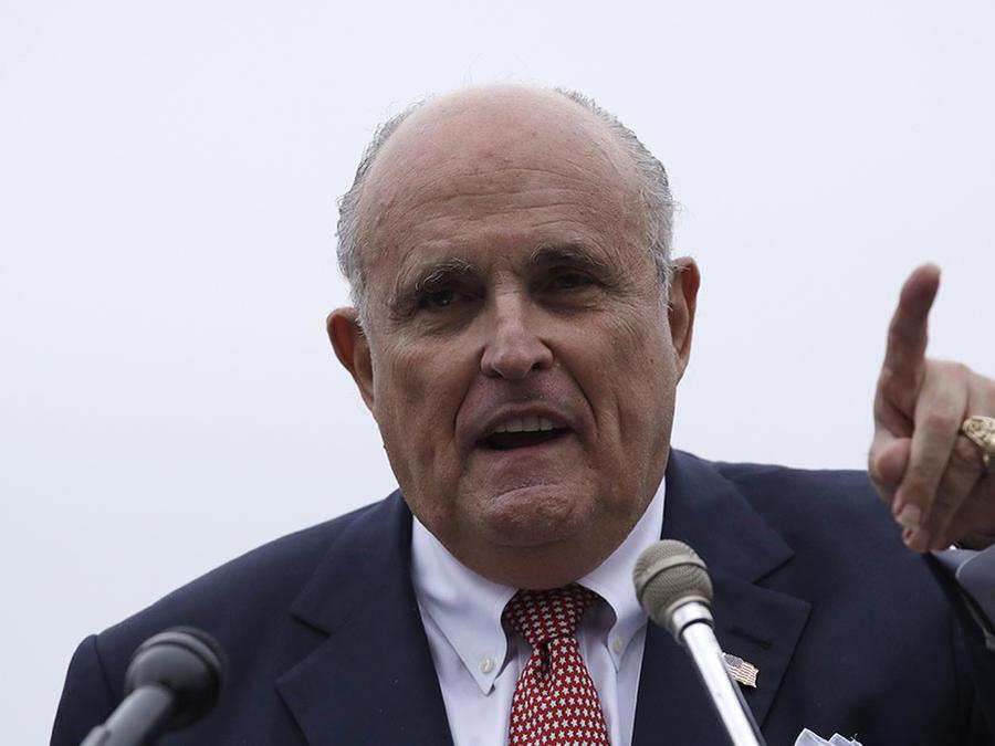 Rudy Giuliani, abogado del presidente Donald Trump.