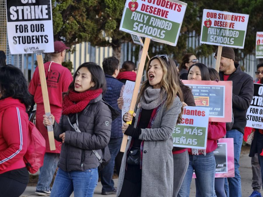 maestros del Distrito Unificado de Los Ángeles