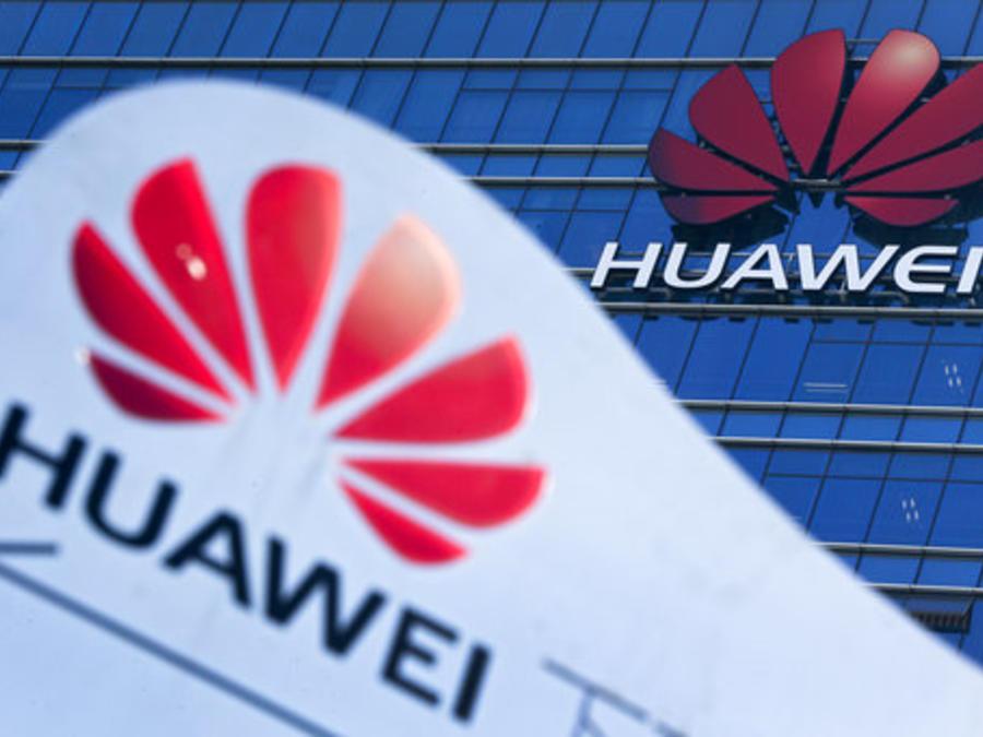 Uno de los edificios de la compañía china de tecnología Huawei.