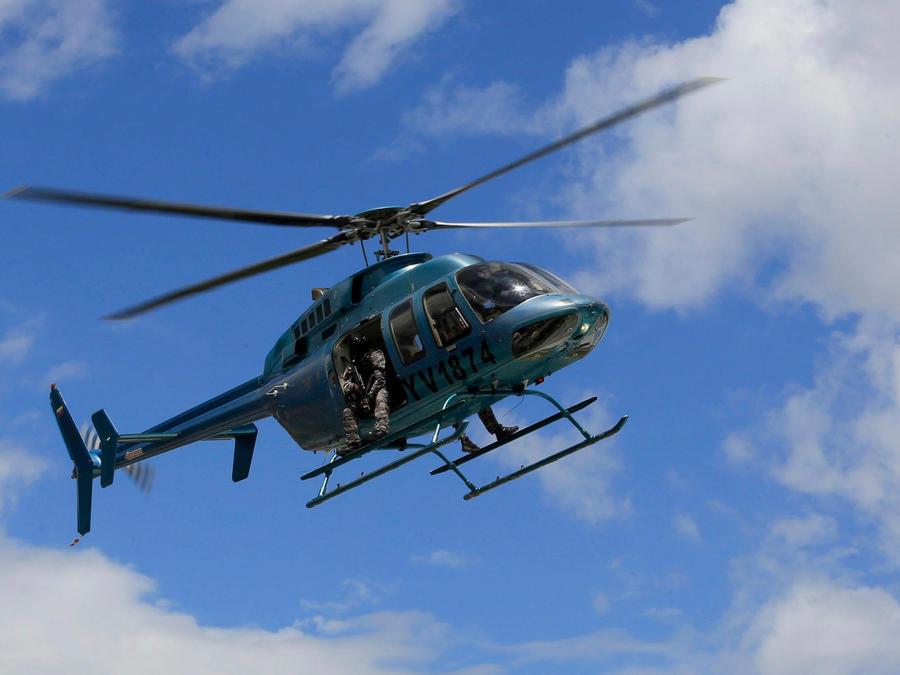 Un helicóptero del Ejército de Venezuela en una imagen de archivo