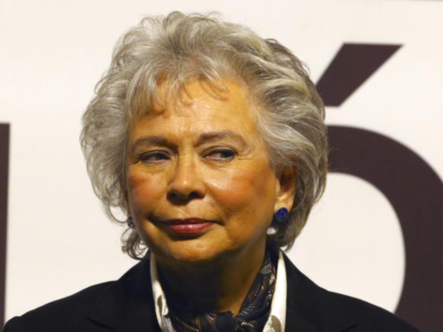 Olga Sánchez Cordero, secretaria de Gobernación en el gabinete de Andrés Manuel López Obrador.