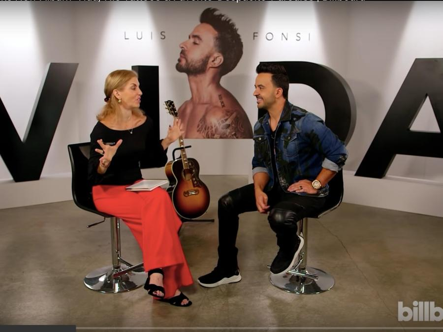 Luis Fonsi interview with Leila Cobo of Billboard.