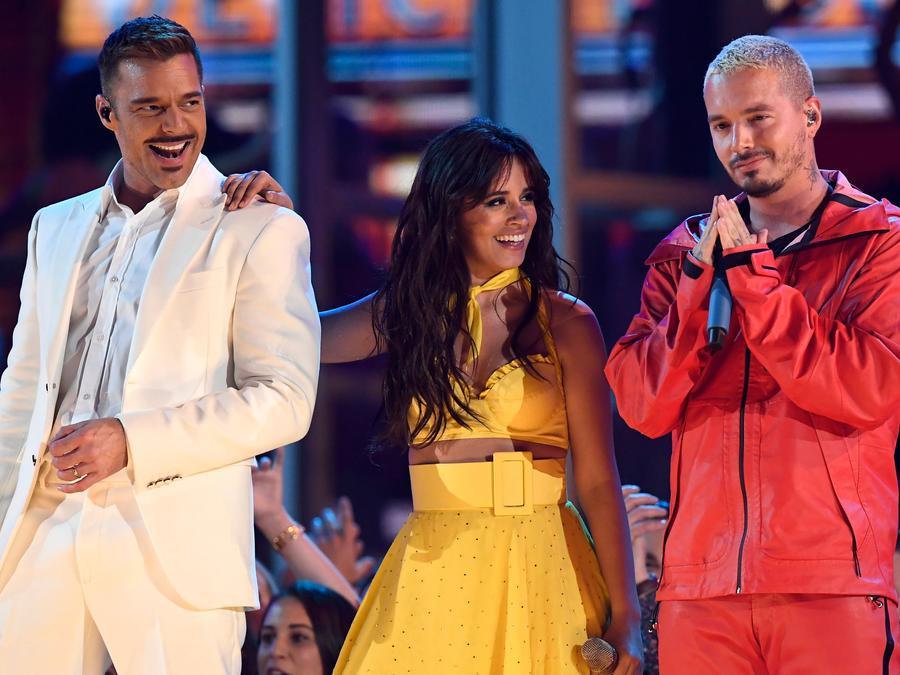 Camila Cabello, Ricky Martin, and J Balvin open the 2019 Grammys