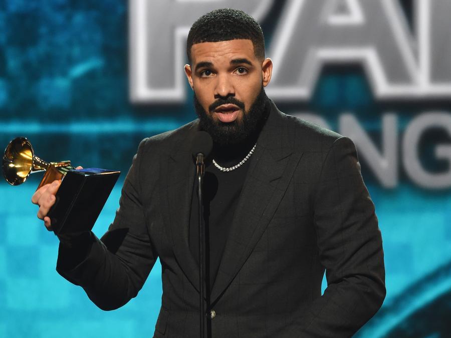 Drake at the 2019 Grammys