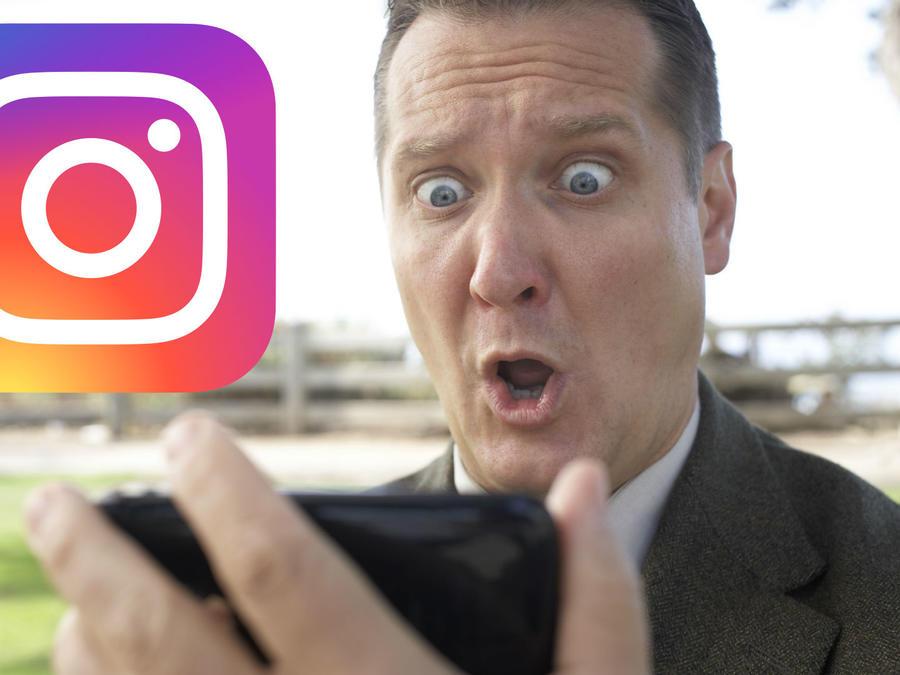 Error en Instagram