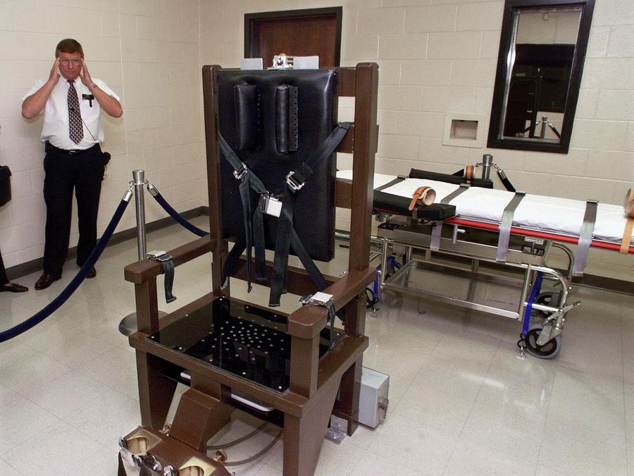 Imagen de archivo de una sala de ejecuciones en la Institución de Máxima Seguridad Riverbend en Nashville, Tennessee.