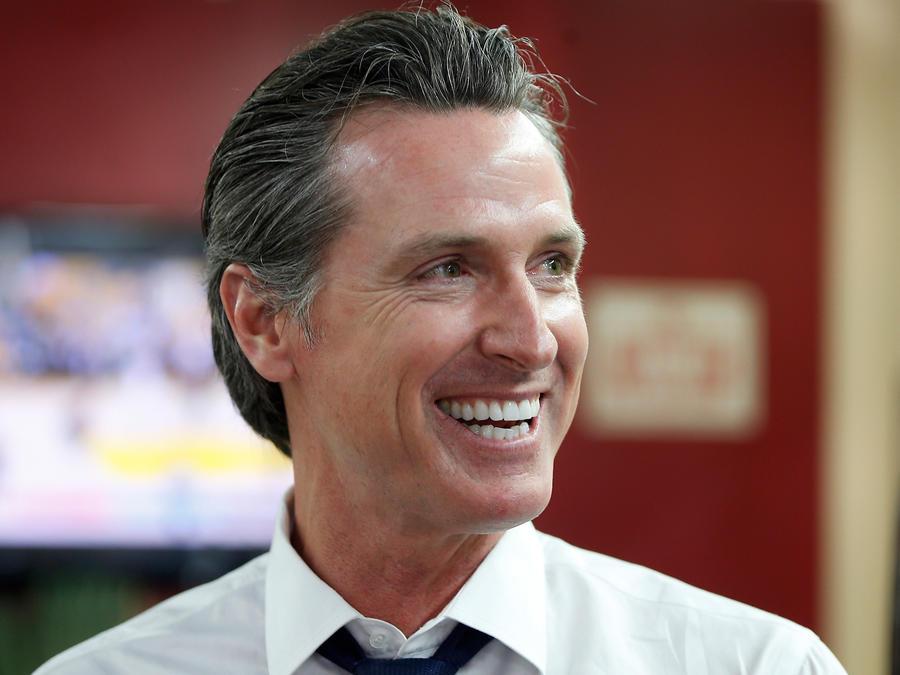 Gobernador de California, Gavin Newson, en una imagen de archivo