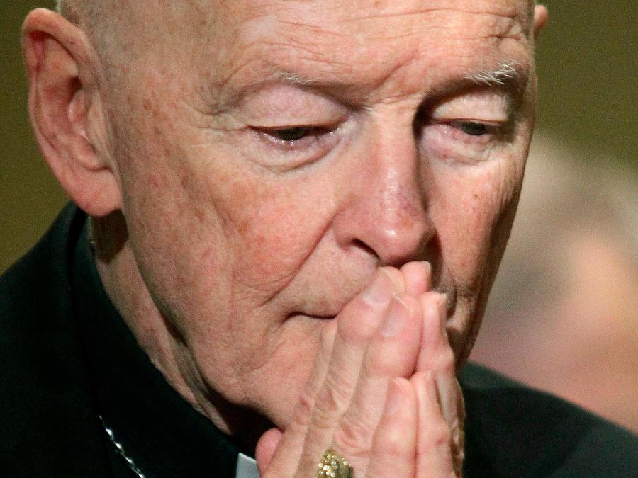 El excardenal Theodore McCarrick en una imagen de archivo