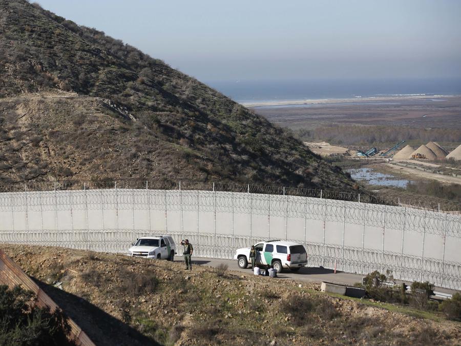 Foto de archivo de la Patrulla Fronteriza en San Diego