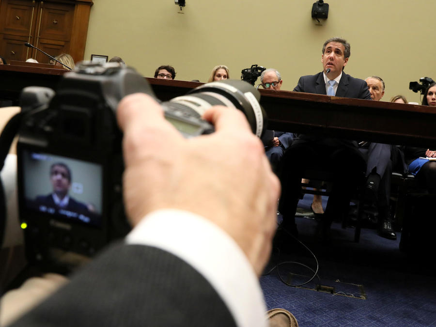 Michael Cohen, ex abogado de Trump, hoy ante comité del Congreso