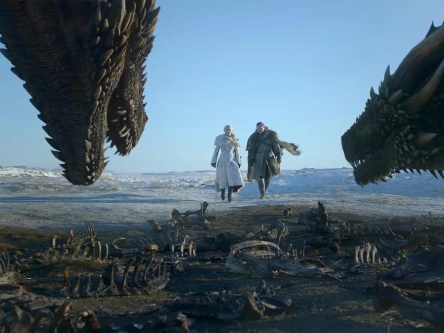 Game of Thrones trailer screengrab