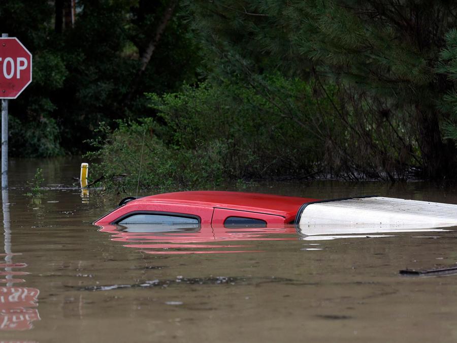 Inundaciones en California por fuertes lluvias