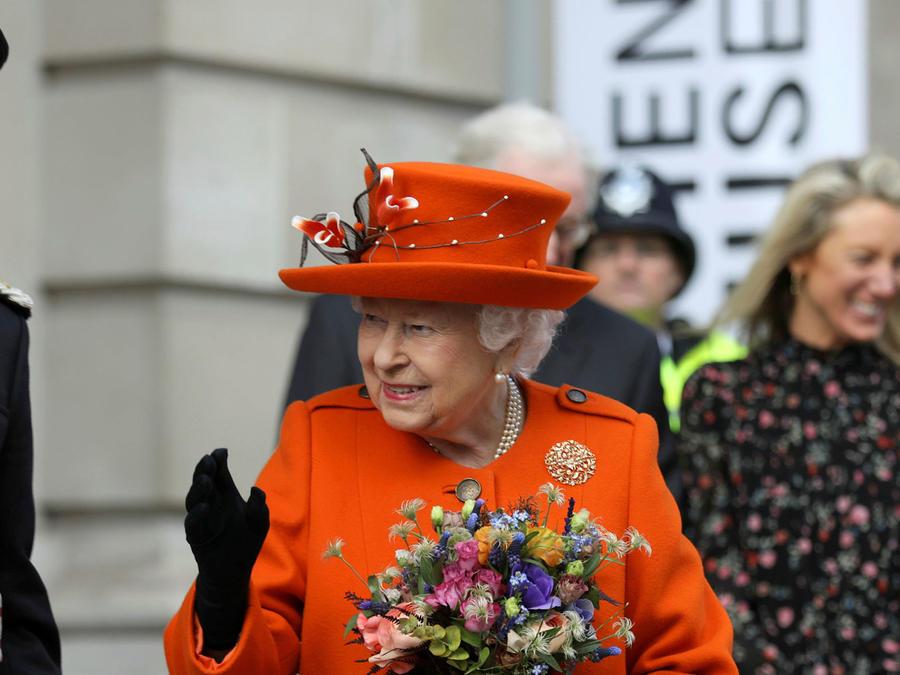 La reina Isabel durante su visita al Museo de Ciencia, el 7 de marzo de 2019