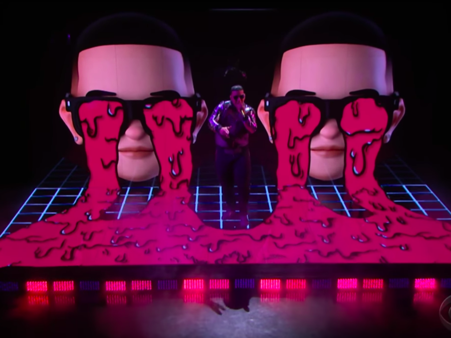 Daddy Yankee performs on James Corden's show.