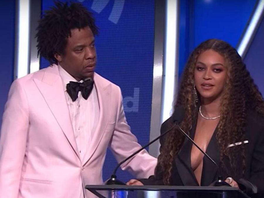 Beyoncé en los premios GLAAD