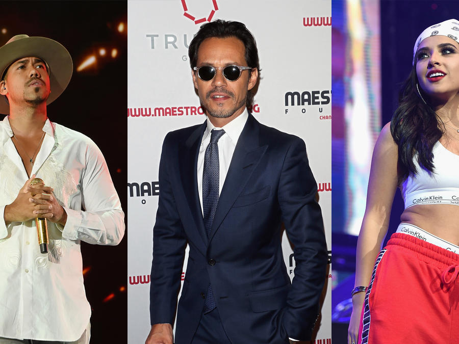 Romeo Santos, Marc Anthony, Becky G