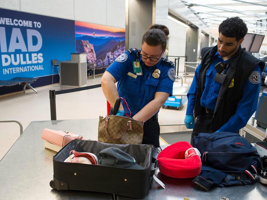 Oficiales de TSA