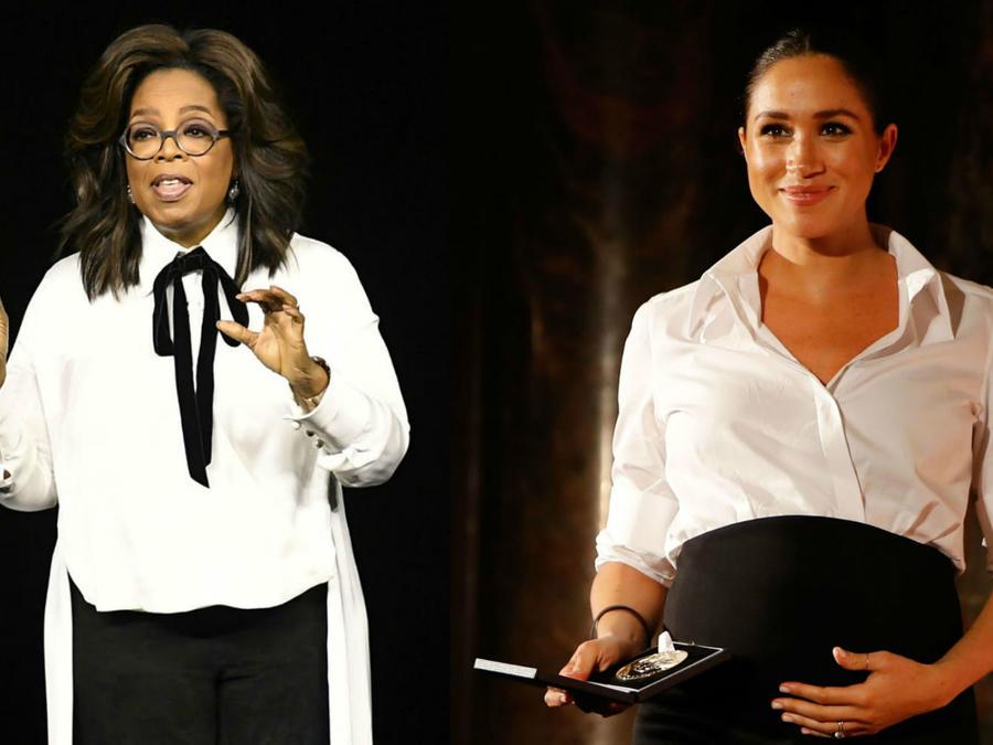 Meghan Markle y Oprah Winfrey