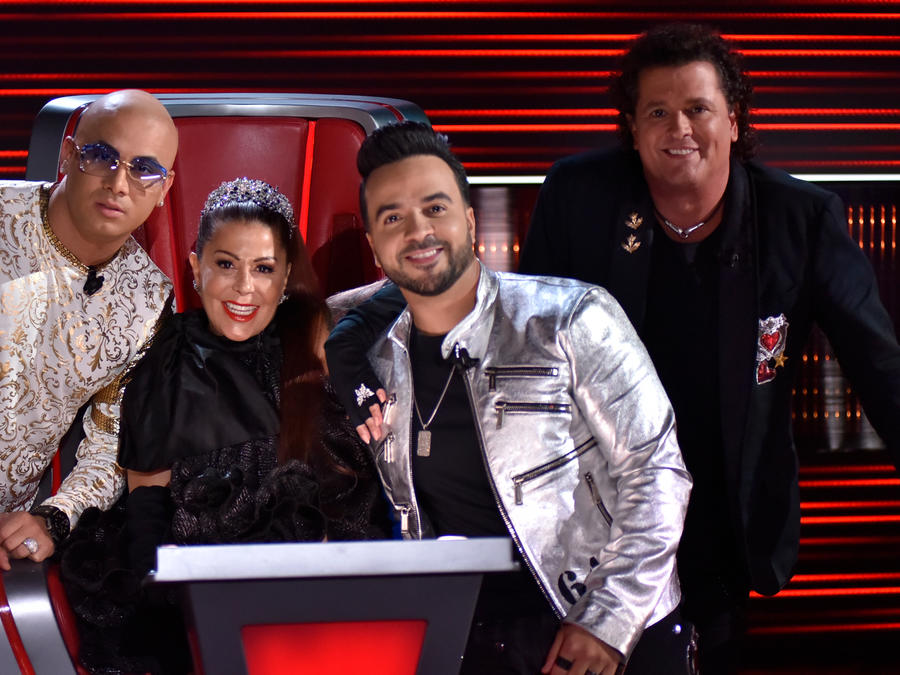 Coaches de La Voz en la semifinal