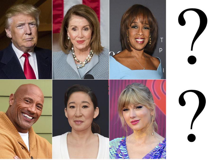 Algunas de las 100 personas más influyentes del mundo, según la revista Time.