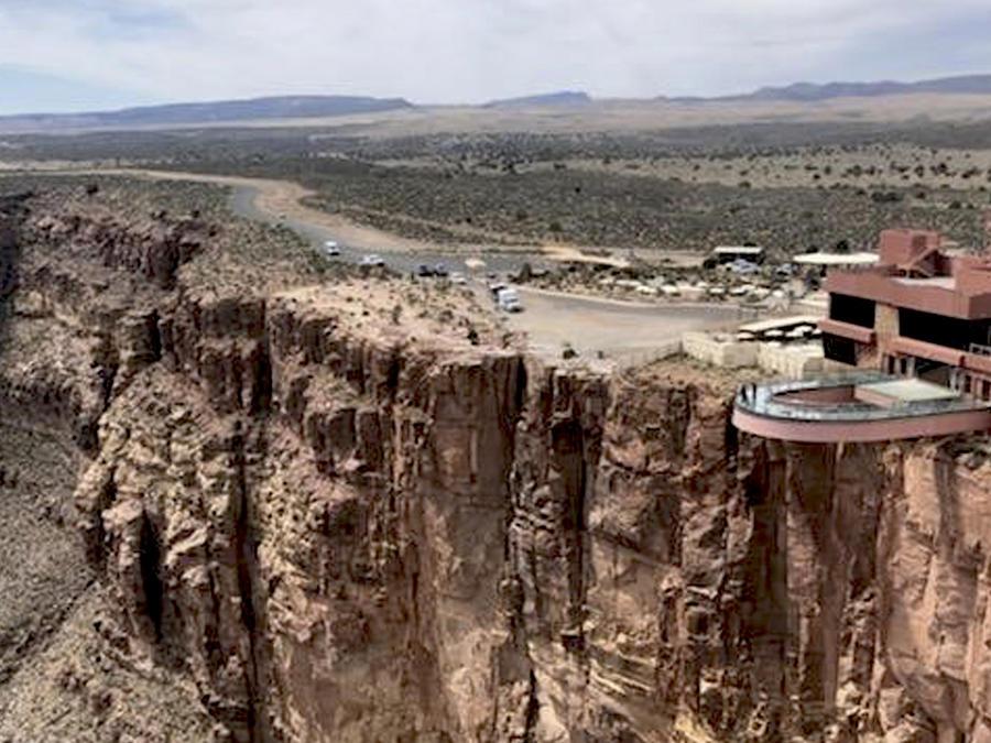Observatorio donde una turista perdió la vida el 29 de marzo.