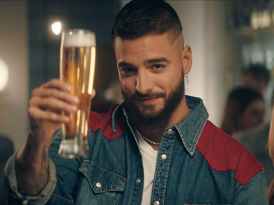 Maluma in new michelob commercial