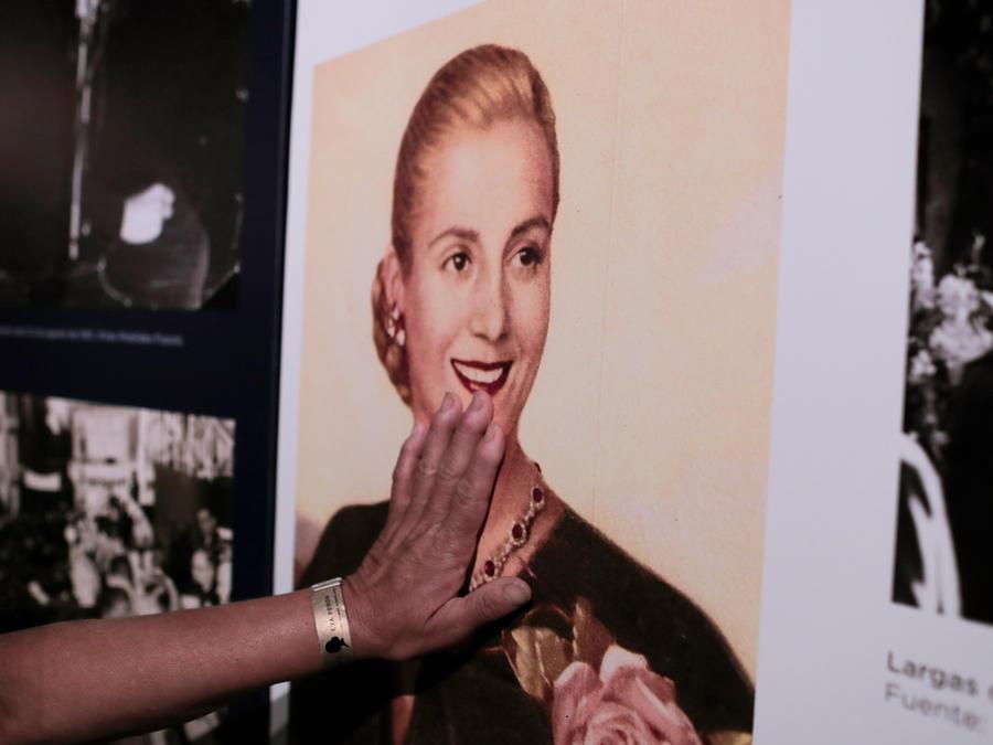 Evita Perón en su 100 aniversario en Argentina el pasado 7 de mayo