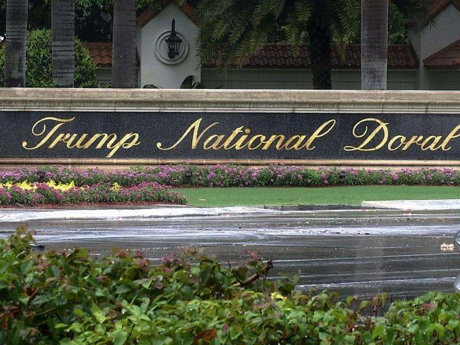 Una imagen de archivo delTrump National Doral en Doral, Florida.