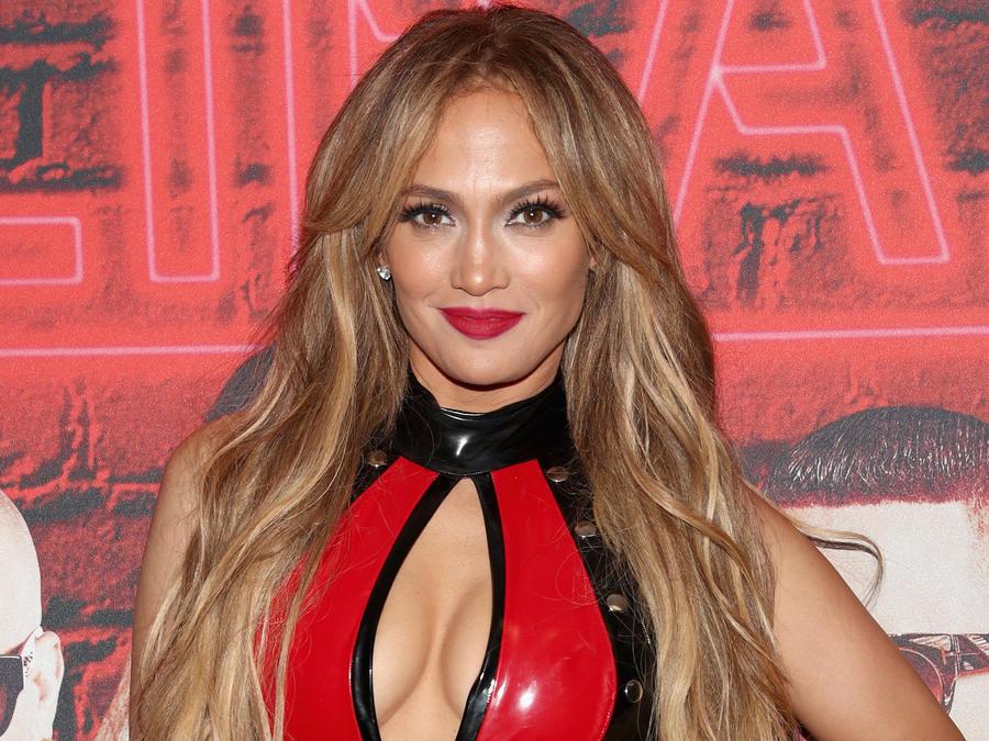 Jennifer Lopez en el Calibash en Los Ángeles el 20 de enero de 2018