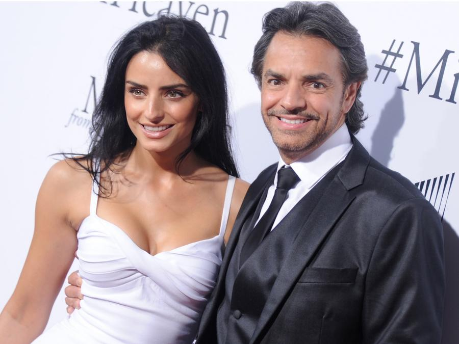 Eugenio Derbez y Aislinn Derbez