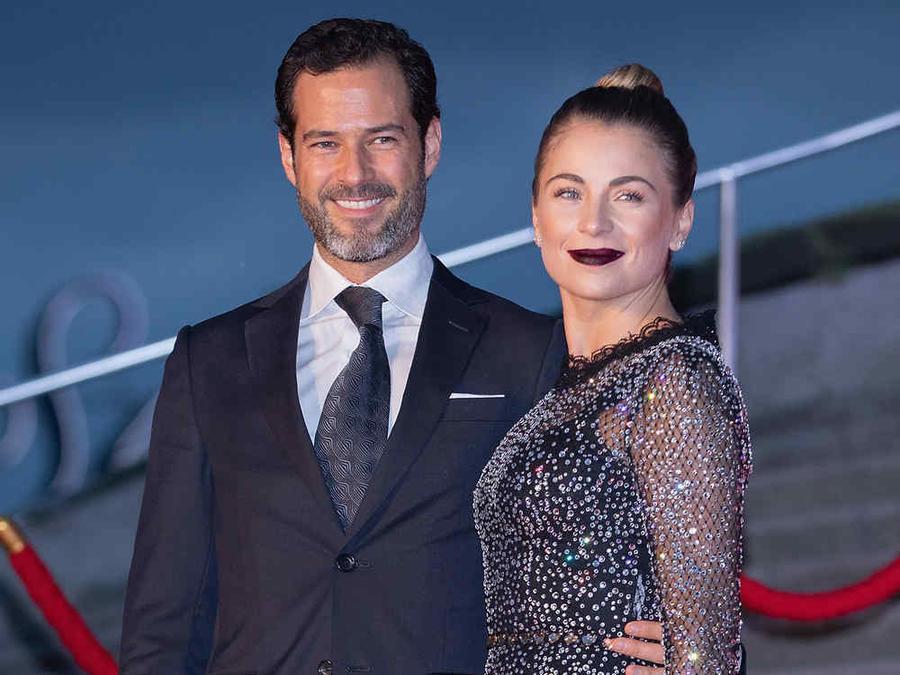 Ludwika Paleta y su esposo Emiliano Salinas
