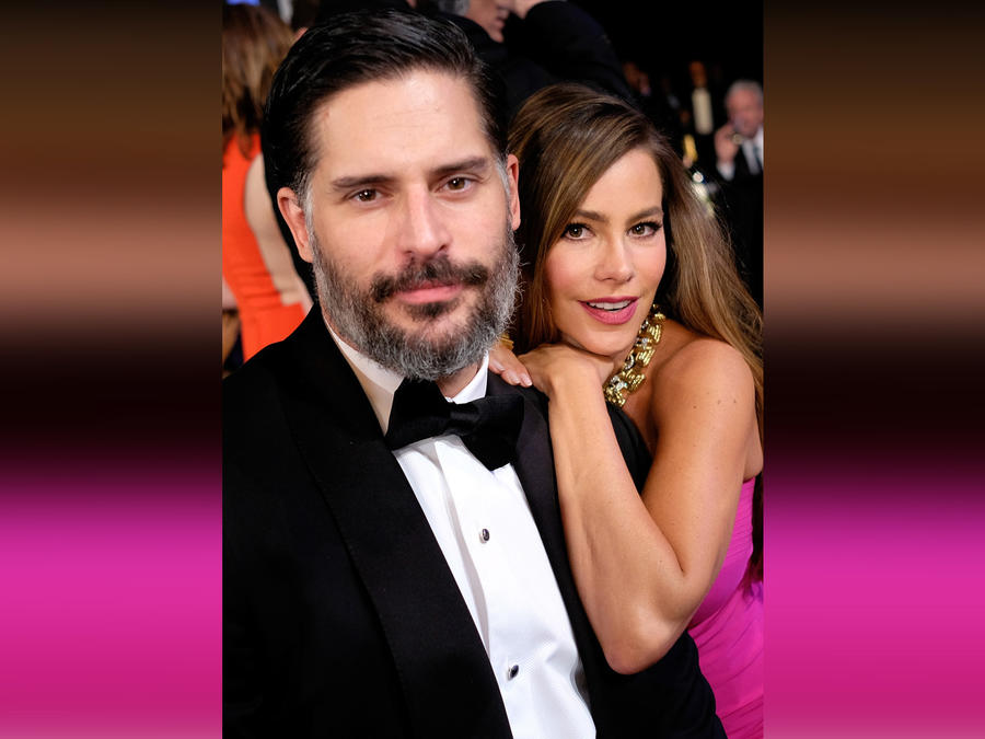 Joe Manganiello y Sofía Vergara en los 22nd Annual Screen Actors Guild Awards en Los Ángeles, California, el 30 de enero de 2016