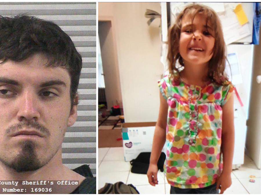 Alex Whipple y su sobrina desaparecida Elizabeth Shelley