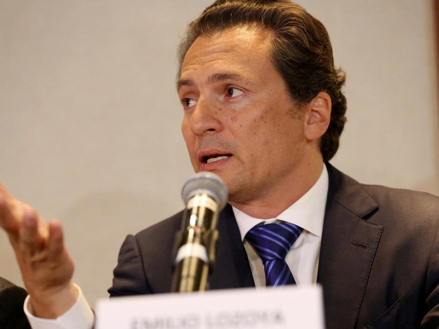 Emilio Lozoya, expresidente de Pemex en una imagen de archivo