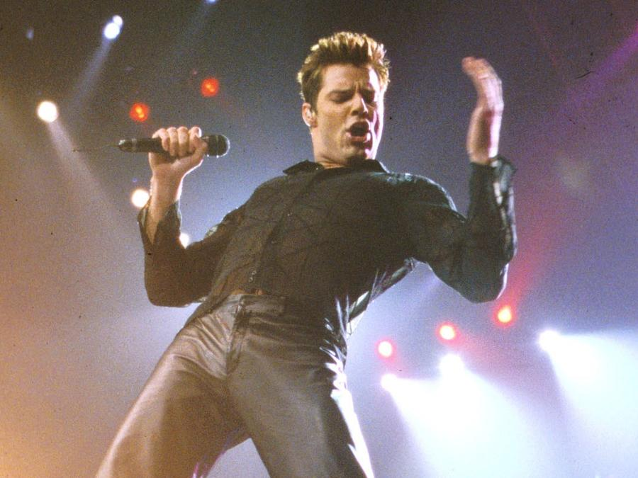 Ricky Martin celebrates 20 years of Living la Vida Loca