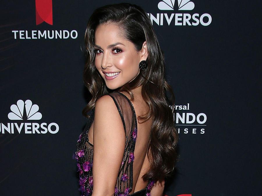 Carmen Villalobos en Telemundo Upfront 2018 en Nueva York.