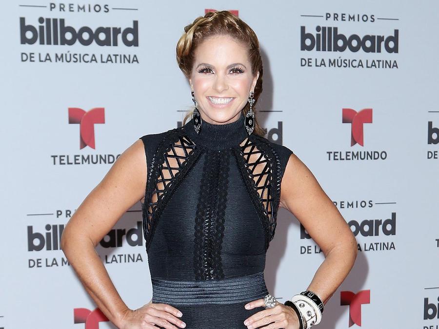 Lucero en los Billboard Latin Music Awards en Miami, Florida, 2016.