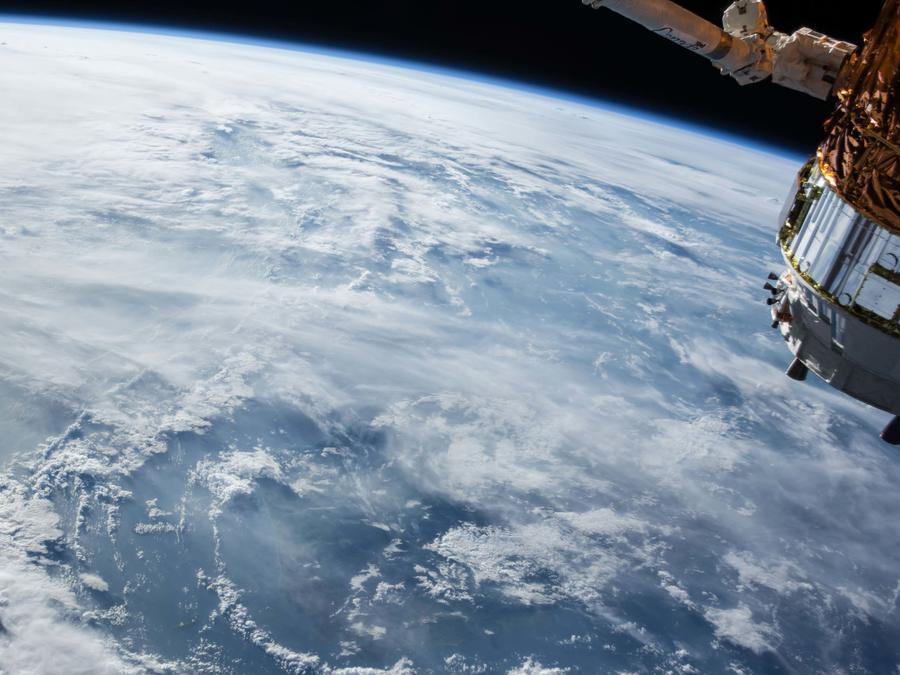 Planeta Tierra visto desde el espacio
