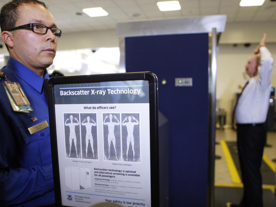 Imagen de archivo de un control aeroportuario de la TSA.