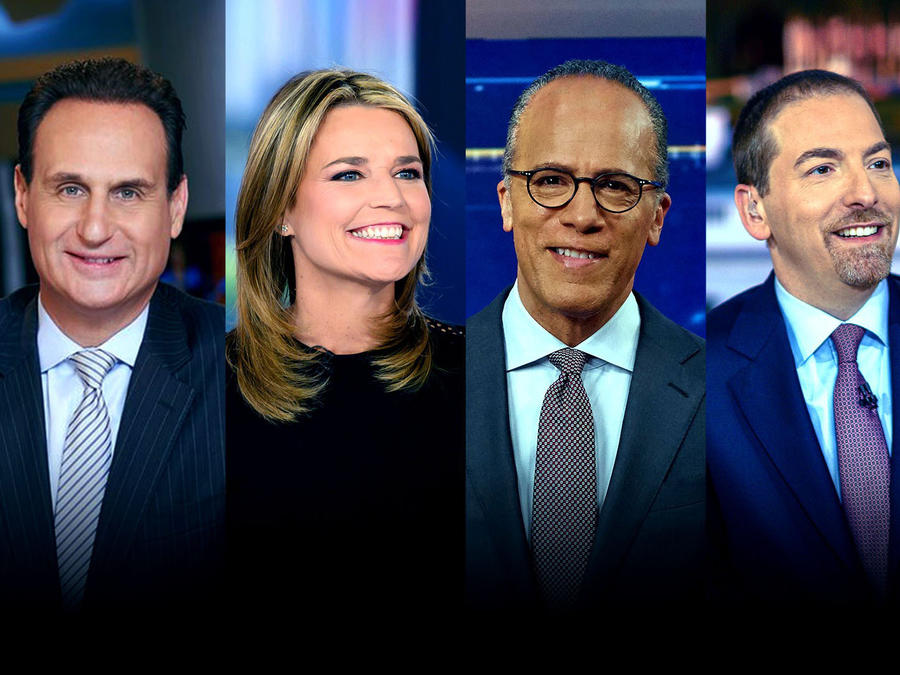 José Diaz-Balart, Savannah Guthrie, Lester Holt, Chuck Todd y Rachel Maddow moderarán el primer debate demócrata