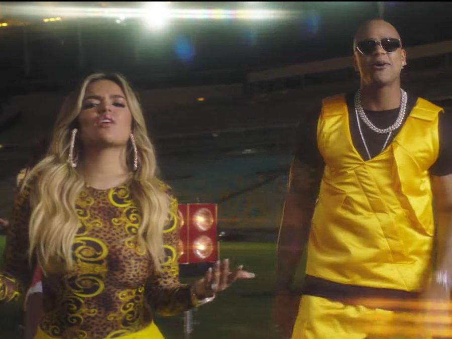 Karol G sings Copa America 2019 song