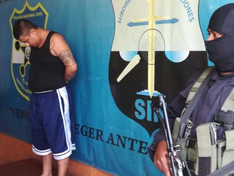 Arrestado William Alexander Monterrosa de la MS-13 en El Salvador