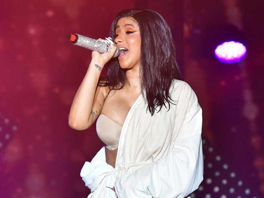 Cardi B performs at Bonaroo