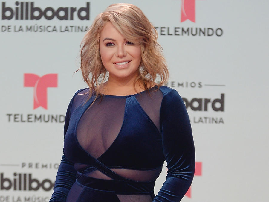 Chiquis Rivera acude a los Billboard Latin Music Awards en el Watsco Center el 27 de abril de 2017 en Miami, Florida.
