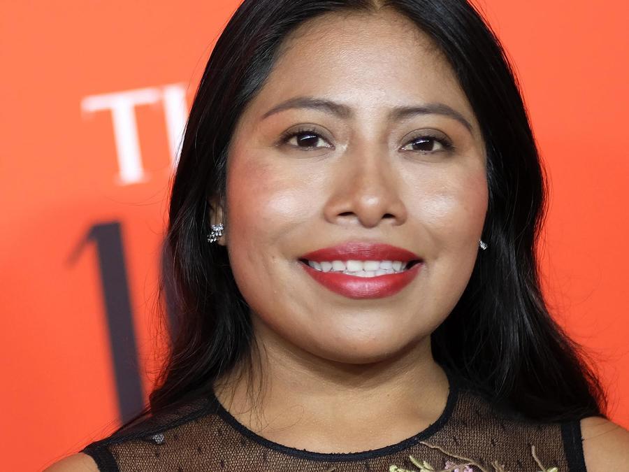 Yalitza Aparicio en la alfombra roja de TIME 100