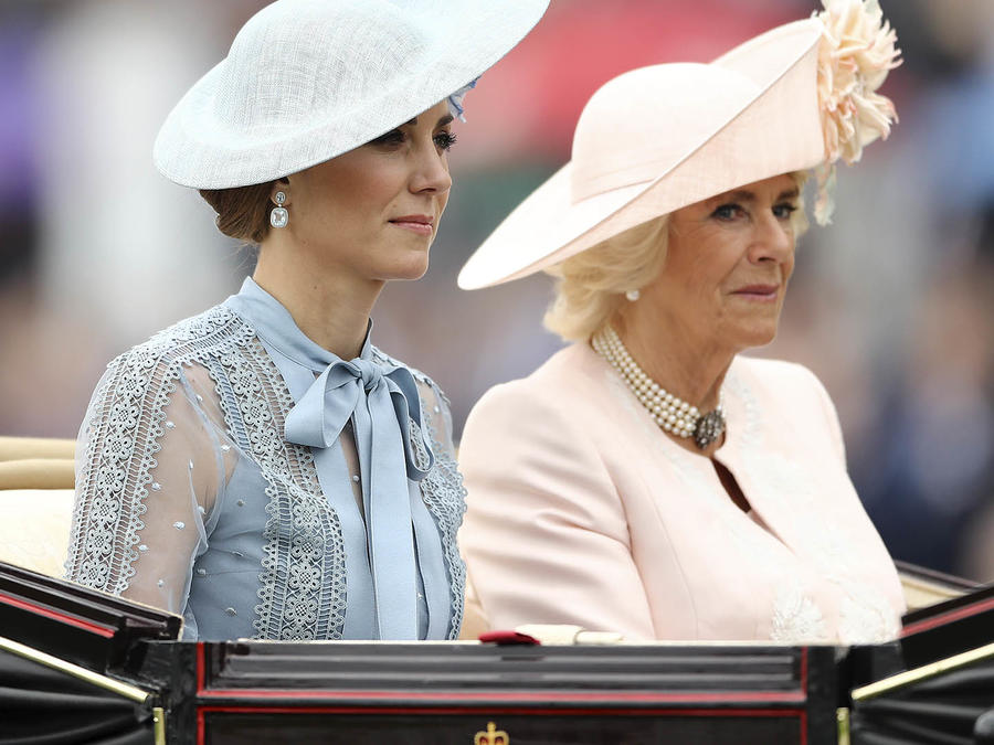 Kate Middleton y Camilla Parker